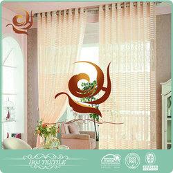 Trade Assurance Curtain Supplier polyeseter home window jacquard curtain