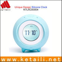 Unique Design Silicone Table And Wall Clock Made in China