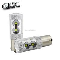 Super bright auto light 12v 24v 1156 1157 led bulb socket 50w 60w turn signal reverse lamp