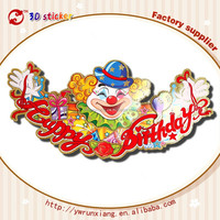 Wholesale Kids Birthday Party supplies,kids birthday party decoration wall paper sticker