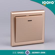 IGOTO E9020 British standard high quality 20A push button wall switch