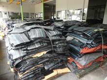 Unvulcanized rubber compounds scrap