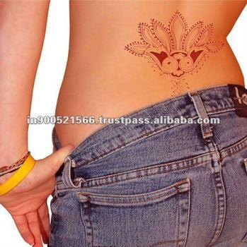 Red tattoo henna buy henna body tattoo stick on henna for Red henna tattoo