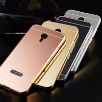 Luxury Aluminum Ultra-thin Mirror Metal Phone Case Cover For Meizu M2 Note