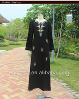 Black&Red ruby busana muslim blouse baju muslim with Bead
