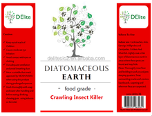 DElite Organic 300G/Bottle Diatomaceous Earth(D.E.) Powder Agrochemical, Pesticides, Insect Killer