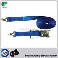 "hot 2"" polyester ratchet tie down ,GS TUV approved cargo lashing straps 5000kg,50mm ratchet lashing belt"