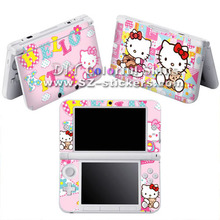 The Best Selling Vinyl Skin Sticker for Nintendo 3ds xl for dsi xl for 3ds with Hello Kitty Mix Designs