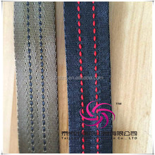 Embroidered30mm webbing polyester strap for ladies casual dresses pictures