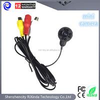 HD Mini CCTV Audio IR Camera Security Surveillance Micro 700TVL Night Vision Camera 8 LED hot sell 940NM LEDS