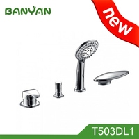 Bath And Shower Faucet Combination For Bathroom