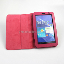 Classic stand tablet case cover with credit card for samsung p6200