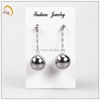 high feedback brand stainless steel earing hollow jewelry eardrops