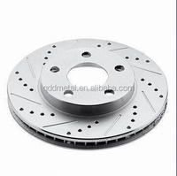 China Brake Disc, Drilled and Slotted with Dacromet, OEM Orders Welcomed