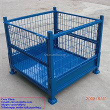 mesh box cage metal bin storage container