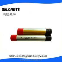 3.7v lipo e-cigarette battery 13700 e-cigarette battery 1100mah large capacity