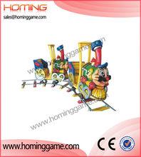 Electric track train/Amusement rides equipment cartoon track train,cartoon track train rides, cartoon track train