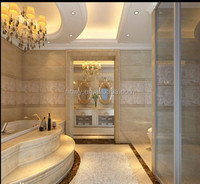 royal botticino cultured marble tiles tub surrounds