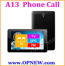 7 inch GSM Quadband Android 4.1 Phone Tablet PC All Winner A13 1.2GHz 4GB ROM