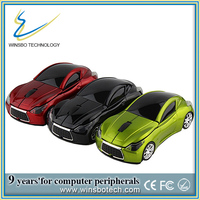 Chistmas promotional gift Infiniti wireless car model mouse usb optical scroll wheel mice mouse