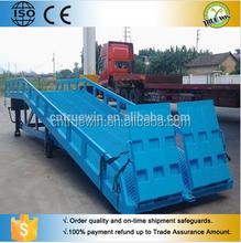 True Win material handling loading dock ramp