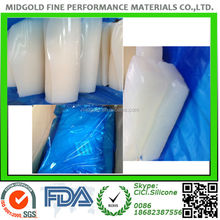 Transparent Silicone rubber compound materials made in China