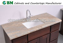 Bathroom Marble Top Vanity Cabinet