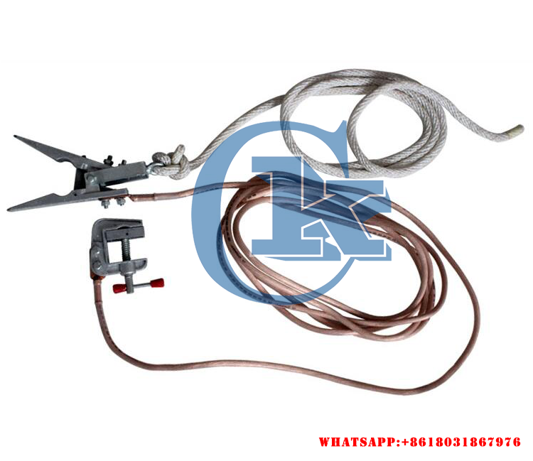Portable Earthing Devices/short Circuit Grounding Wire Used For ...