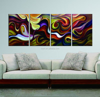 canvas abstract art painting themes for home