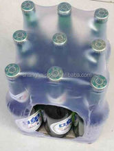 PE heat shrink film bottle shrink wraps of PE heat shrink packaging film