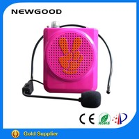 Factory manufacture portable handle professional voice amplifier for teacher and tour guide