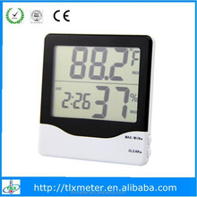 Digital Thermo Hygrograph Clock With Large LCD Display