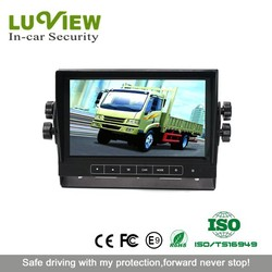 7 inch Touch Button TFT Car Reverse Monitor with Speaker for Vehicles