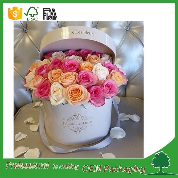 2016 vente chaude fleur bo te d 39 emballage cylindre forme tanche fleur bo te en carton ronde. Black Bedroom Furniture Sets. Home Design Ideas