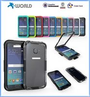 Plastic fashion phone pvc waterproof case for wholesales