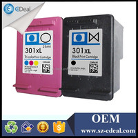 Compatible ink cartridges for hp 301 CH563E CH564E printer