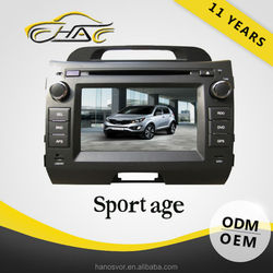 windows car audio system for sportage