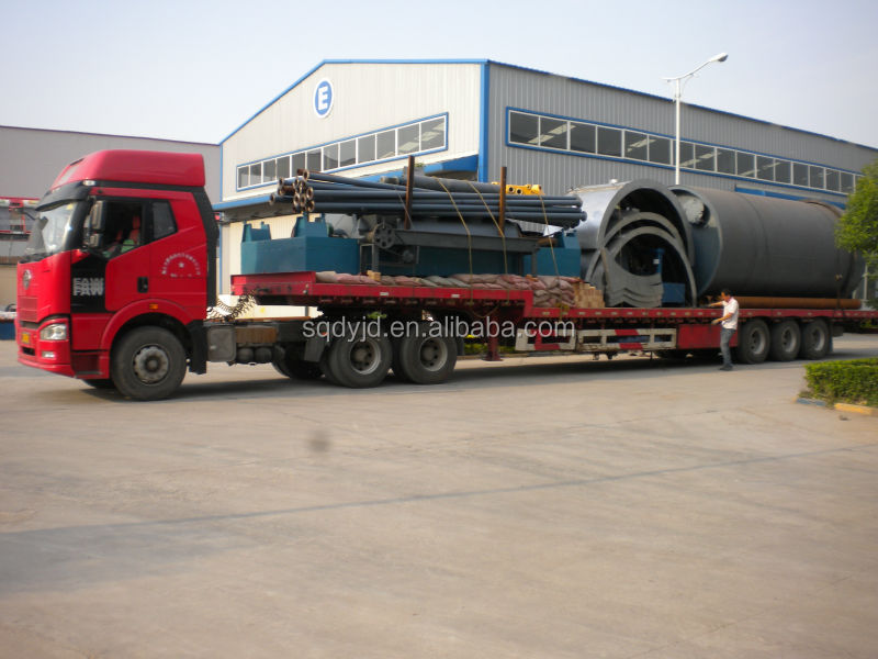 Waste Tyre To Oil Recycling Plant Top Quality Competitive Price 10Ton Capacity