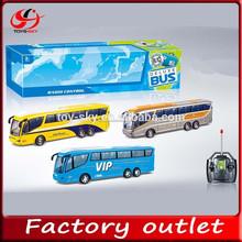 juguete de niño 4ch de radio control de autobús de lujo vip autobús autobús del rc