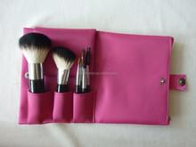 pink bag 6pcs/set make up brush set make up tool