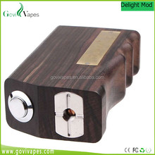 Hot selling products 2015 popular large stock Delight Mech 18650 Wood Box Mod
