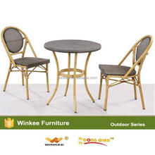 High quality bamboo kitchen table and chair