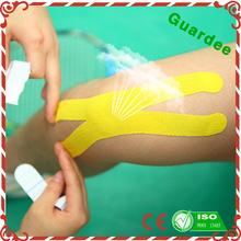 5 cm * 5 m adesivo algodão fita cinesiologia stretch respirável fita cinesiologia