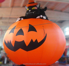 Animated Inflatable Pumpkin for Halloween Decoration