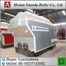 Single Drum Hand Feed Coal Fired Hot water boiler