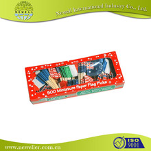 Chinese soccer mini flags pe bag factory offer