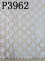 Whole colored telas africanas del cordón P3962 alta tela de algodón de calidad delicado de noche de impresión fabricP3962