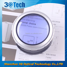 DH-86001 fashion glass magnifying lens excellent magnifying glasses led stand magnifier 5x-7x