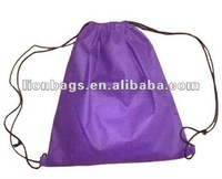 New Style Nonwoven travel Drawstring Bag for shoes