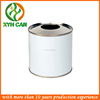 round shape chemical oil can